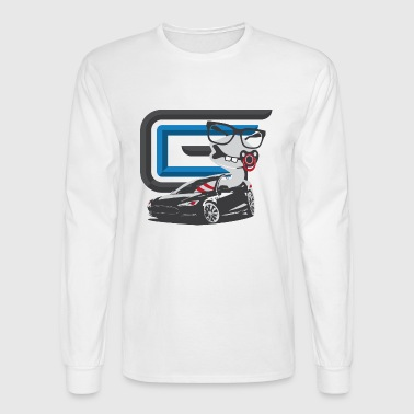 Car Guru - Sock Baby - Men's Long Sleeve T-Shirt