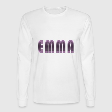 emma name - Men's Long Sleeve T-Shirt