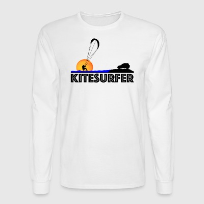 Kitesurfer - Men's Long Sleeve T-Shirt