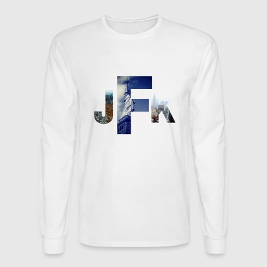 Jetsetter Collection- JFK/NYC Edition - Men's Long Sleeve T-Shirt