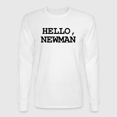 Hello newman - Men's Long Sleeve T-Shirt
