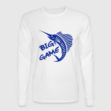Big Game / Big Game Fishing - Men's Long Sleeve T-Shirt