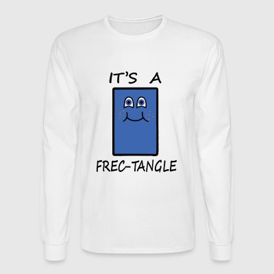 Frectangle, the freckled rectangle - Men's Long Sleeve T-Shirt