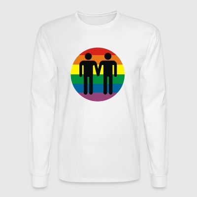 gay communaute - Men's Long Sleeve T-Shirt