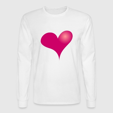 Heart - Men's Long Sleeve T-Shirt