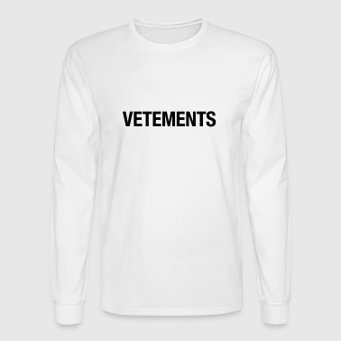 vetement - Men's Long Sleeve T-Shirt