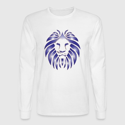 SQUAAD Lion On Dat Lean - Men's Long Sleeve T-Shirt