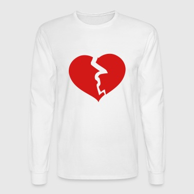 Broken Heart - Men's Long Sleeve T-Shirt