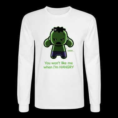 The Hangry Hulk - Men's Long Sleeve T-Shirt