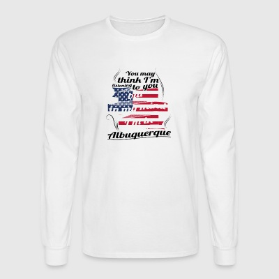 THERAPIE URLAUB AMERICA USA TRAVEL Albuquerque - Men's Long Sleeve T-Shirt