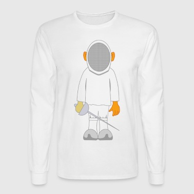 fencing - Men's Long Sleeve T-Shirt