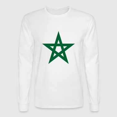 Morocco Star - Men's Long Sleeve T-Shirt