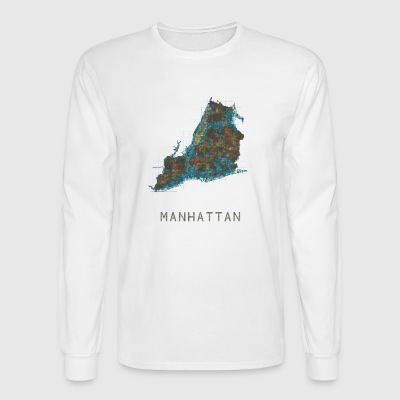 manhattan, ny - Men's Long Sleeve T-Shirt