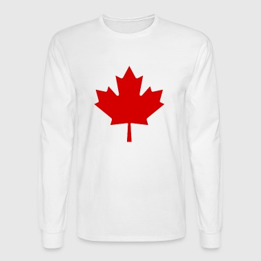 Canada Red Leaf - Men's Long Sleeve T-Shirt