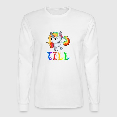 Till Unicorn - Men's Long Sleeve T-Shirt