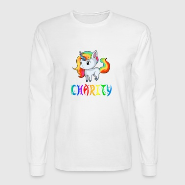 Charity Unicorn - Men's Long Sleeve T-Shirt