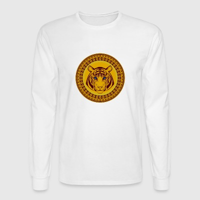 Golden Tiger - Men's Long Sleeve T-Shirt