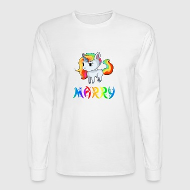 Marry Unicorn - Men's Long Sleeve T-Shirt