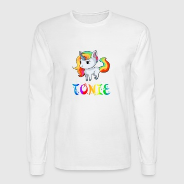 Tonie Unicorn - Men's Long Sleeve T-Shirt