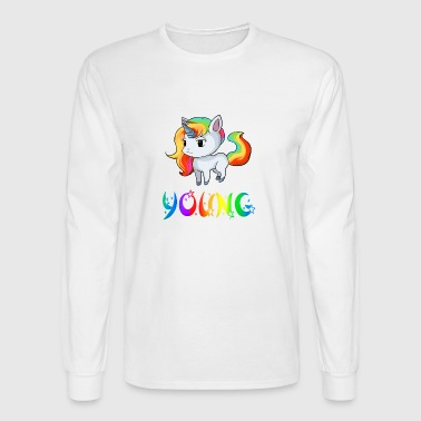 Young Unicorn - Men's Long Sleeve T-Shirt