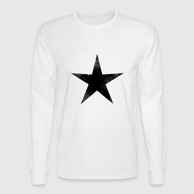 black star - Men's Long Sleeve T-Shirt