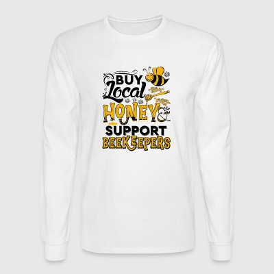 Buy local honey - Men's Long Sleeve T-Shirt