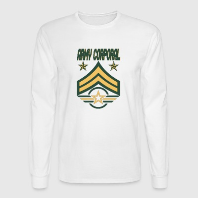 Army Corporal Army stars Army Bars Army Wings - Men's Long Sleeve T-Shirt