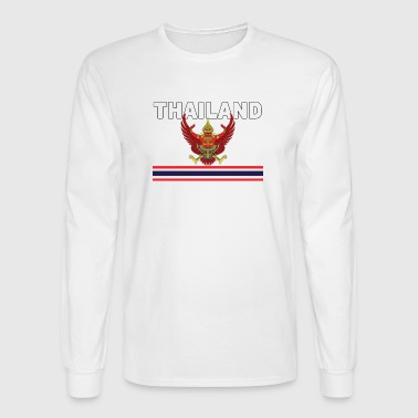 Thailand National Garuda Flag Jersey Original - Men's Long Sleeve T-Shirt