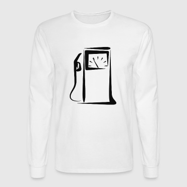 Gas Station - Men's Long Sleeve T-Shirt