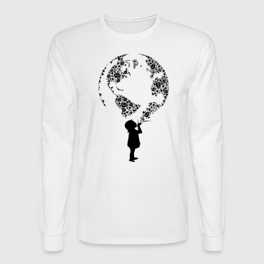 Earth Child (black) - Men's Long Sleeve T-Shirt