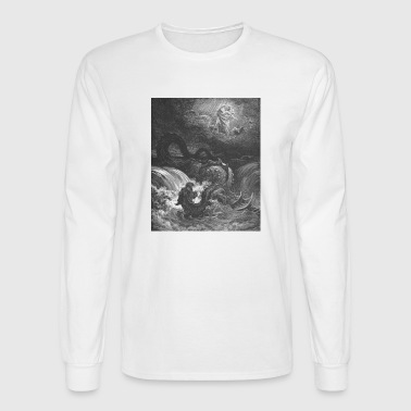God Smites the Leviathan - Men's Long Sleeve T-Shirt