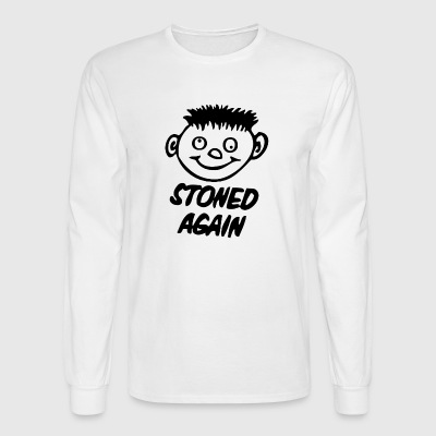 STONED AGAIN - Men's Long Sleeve T-Shirt