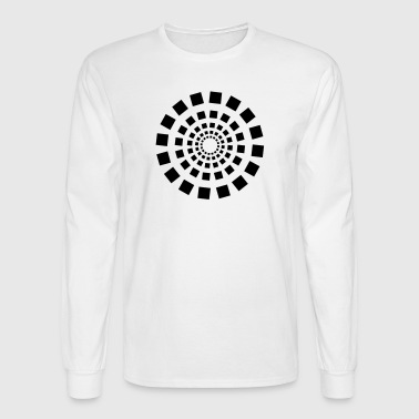 Square circle - Men's Long Sleeve T-Shirt