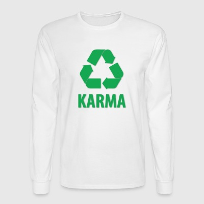 Repeating karma - Men's Long Sleeve T-Shirt