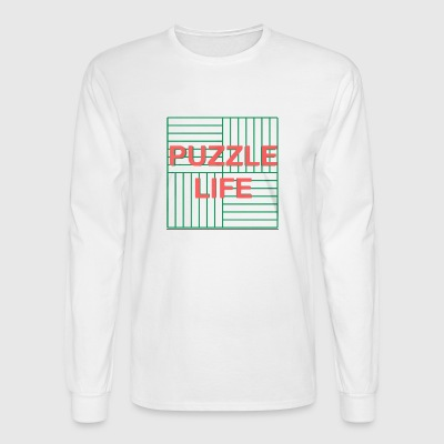 PUZZLE LIFE - Men's Long Sleeve T-Shirt