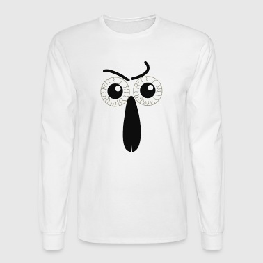 eyes and nose - Men's Long Sleeve T-Shirt