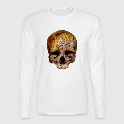 wormy skull - Men's Long Sleeve T-Shirt