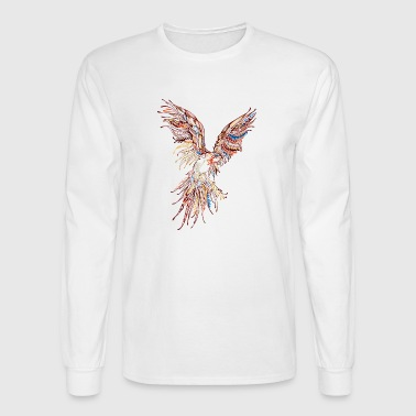 A phoenix comes with grace to rest - Men's Long Sleeve T-Shirt