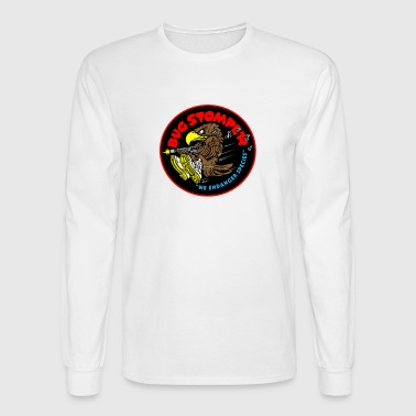 Bug Stomper T shirt - Men's Long Sleeve T-Shirt