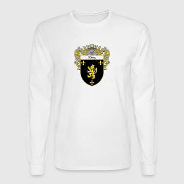 King Coat of Arms - Men's Long Sleeve T-Shirt