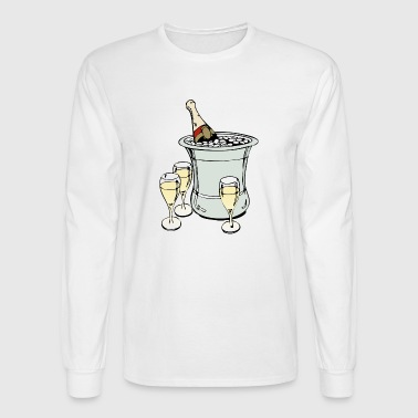 champagne - Men's Long Sleeve T-Shirt