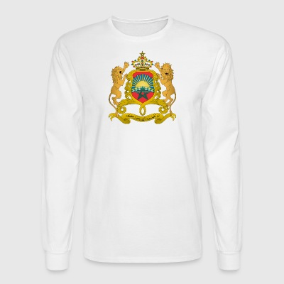 Coat of arms of Morocco svg - Men's Long Sleeve T-Shirt