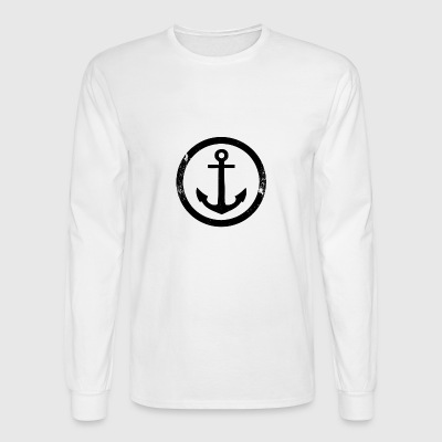 Vintage anchor - Men's Long Sleeve T-Shirt