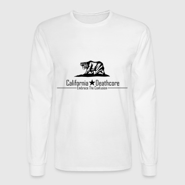 California Deathcore - Men's Long Sleeve T-Shirt