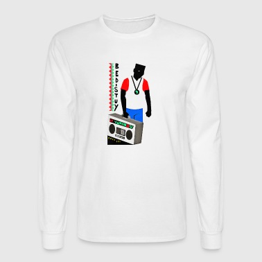 radio - Men's Long Sleeve T-Shirt