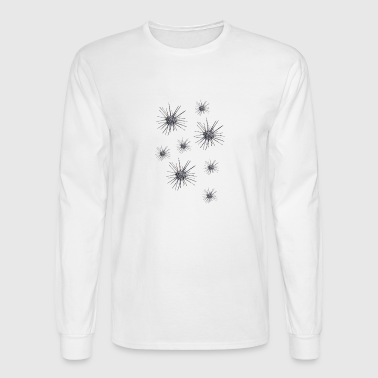 group of cyber sea urchins Festivalsyle - Men's Long Sleeve T-Shirt