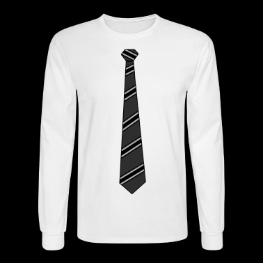Black Tie Business Casual - Men's Long Sleeve T-Shirt