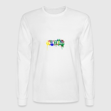 color_paintball-png - Men's Long Sleeve T-Shirt