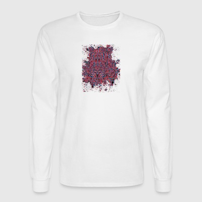 Psychedelic Labyrinth - Men's Long Sleeve T-Shirt