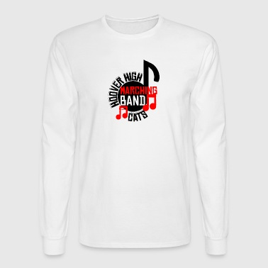 Hoover High Marching Band Cats - Men's Long Sleeve T-Shirt